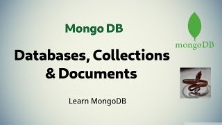 [ MongoDB 3 ] Working with Databases, Collections & Documents