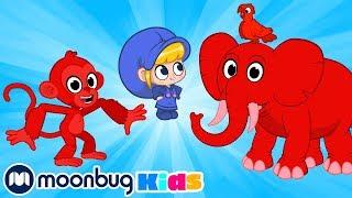 Проходя через Джунгли | Детские мультики | Morphle | Морфл | Moonbug Kids