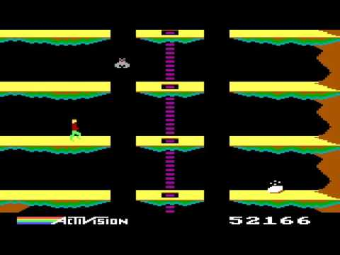 PC Booter Game: Pitfall II The Lost Caverns  (1984 Activision)