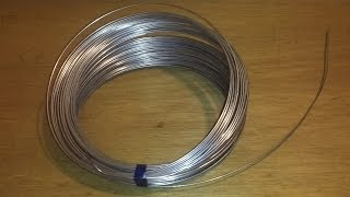 How to straighten 16 gauge wire to make control rods for RC airplanes