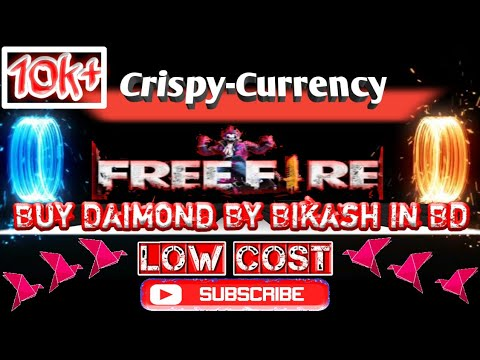 How to buy diamond without Debit or Credit Card || Crispy Currency BD || Garena Free Fire