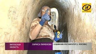 Масштабные раскопки проходят у Спасо-Преображенской церкви в Полоцке