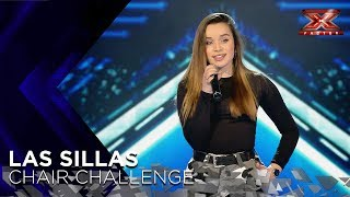 Lara deja boquiabierto a Risto Mejide cantándole a los ojos su 'Rise Up' | Sillas 1 | Factor X 2018 - Video Youtube