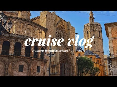 MSC Divina Western Mediterranean Cruise & Rome, Italy Vlog / April 2018