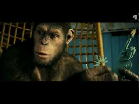 Rise Of The Planet Of The Apes   clip Charles & Ceasar (2011) SDCC Andy Serkis