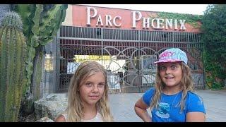 ✿ Идем в парк ФЕНИКС Влог! Тайная Жизнь Домашних Животных VLOG для детей Катя, Ксюша, Франция Часть2