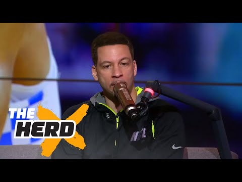 Chris Broussard gives his 2017 NBA Finals prediction and more | THE HERD