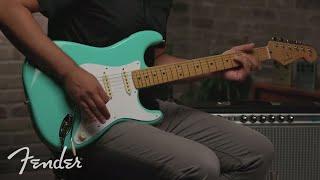 Fender Vintera '50s Stratocaster - WB Video