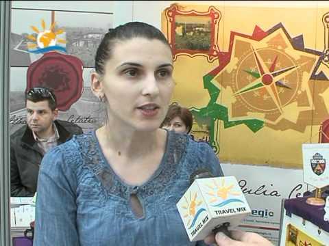 Interviu Iulia Manolescu, consilier manager proiect, Primăria Alba-Iulia, Târgul Turistica, 25-27 martie, Cluj-Napoca