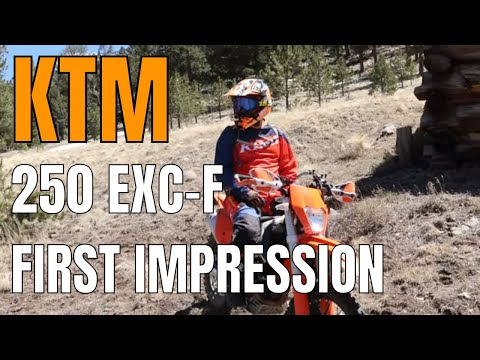First Impressions of the KTM 250 EXC-F dirtbike | is the KTM EXC-F a good dirtbike?