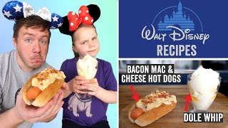 DIY Disney World Recipes - Dole Whip & Bacon Mac & Cheese Hot Dogs by  My Virgin Kitchen