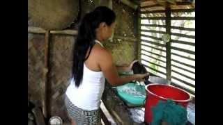February 2013 Laundry Tabon Palawan