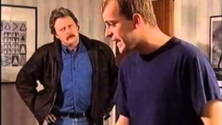 Coronation Street - Jim McDonald And Steve Argue About Jez Quigley