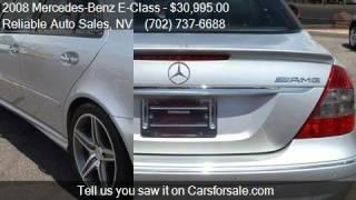 2008 Mercedes-Benz E-Class E63 AMG Sedan - for sale in Las V