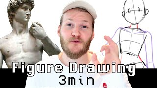 How To DRAW DYNAMIC POSES In 3 Minutes