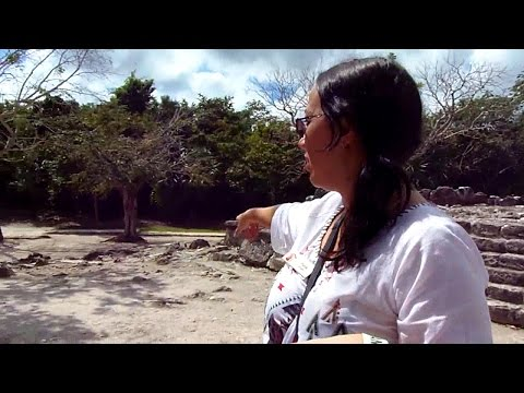 Exploring Ancient Mayan Ruins on Cozumel, Mexico (San Gervasio)