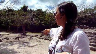 Exploring Ancient Mayan Ruins On Cozumel, Mexico (San Gervasio)