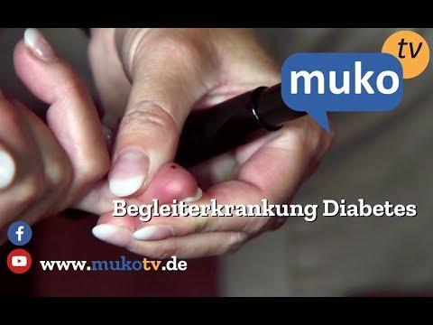Portioerosion bei Diabetes
