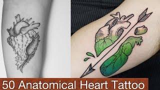 50 Anatomical Heart Tattoo Designs
