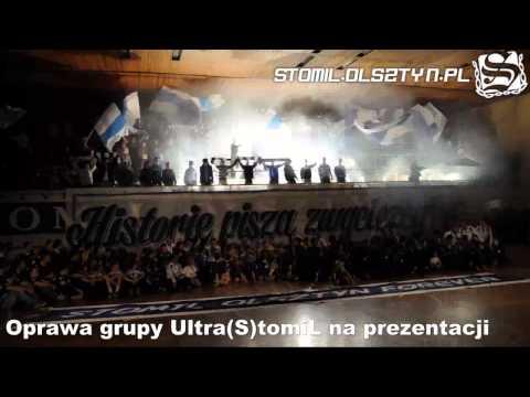 Oprawa grupy Ultra(S)tomiL na prezentacji