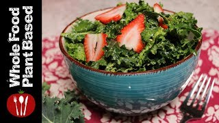 Best Plant Based Massaged Kale Avocado Salad