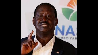 Raila Odinga holds rally in Kibra