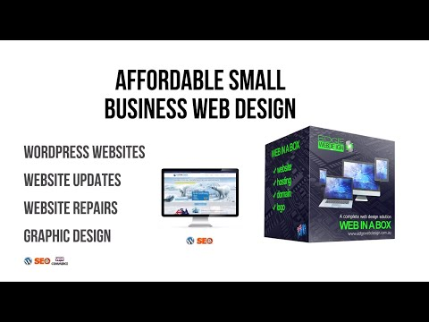 Affordable Professional Web Design for small and medium business