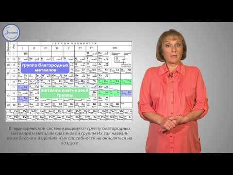 Положение металлов в периодической системе химических элементов Д.И. Менделеева и особенности строения их атомов