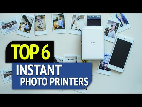 TOP 6: Best Instant Photo Printers 2018