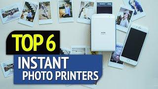 TOP 6: Best Instant Photo Printers 2018