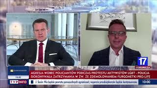 Tarczyński: Jesteście ekstremistami politycznymi, którzy chcą podpalić Polskę