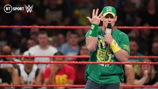 John Cena explains the motivation behind his WWE return & calls out Roman Reigns | Monday Night Raw