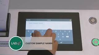 LAB X5000 HITACHI - Φασματογράφος XRF - Ανάλυση με το πάτημα ενός κουμπιού
