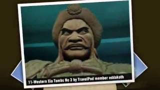 preview picture of video 'Western Xia Tombs - Yinchuan, Ningxia, China'