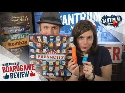 Expancity Board Game Review with Tantrum House