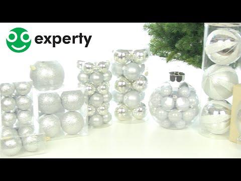 15 Glazen Kerstballen Mat/Glans Mix