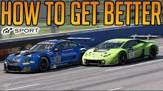 How To Get Faster on Gran Turismo Sport