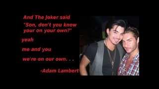 Adam Lambert- Climb