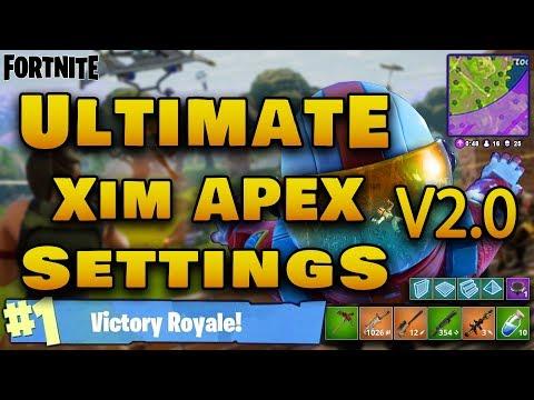 Ultimate Xim Apex Settings V2 0 | FortNite Battle Royale