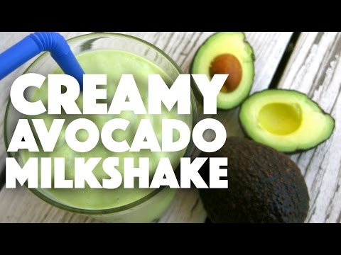 Video Creamy Avocado Shake - low carb keto recipes - weightloss meal prep - ketones - lchf