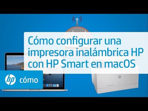 Cómo configurar una impresora inalámbrica HP con HP Smart en macOS