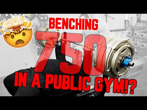 Julius Maddox Bench Presses 350 kg (771 Pounds) in Training, Heaviest Raw Bench to Date
