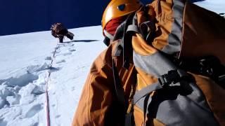 preview picture of video 'Climbing Naya kanga - Langtang - Nepal'