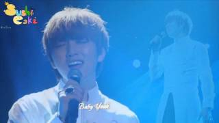 [Vietsub+Kara] Just two of us - Sandeul (B1A4) Solo - Amazing concert