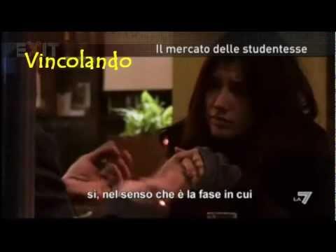 Donna con il giovane italiano