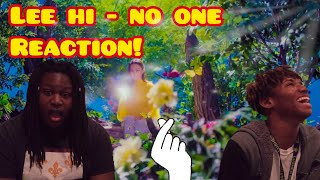 LEE HI - (NO ONE) (Feat. B.I of iKON)' M/V REACTION | kpophabbits