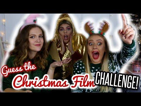 GUESS THE CHRISTMAS FILM CHALLENGE Ft. Jas & Sophie Clough! | BeautySpectrum