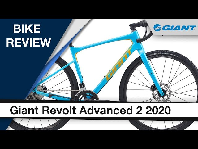 Видео Велосипед Giant Revolt Advanced 2 Blue Atoll