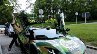preview picture of video 'Gumball 3000 - Vyškov'