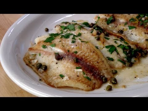 Fish Piccata Recipe – by Laura Vitale – Laura in the Kitchen Episode 133